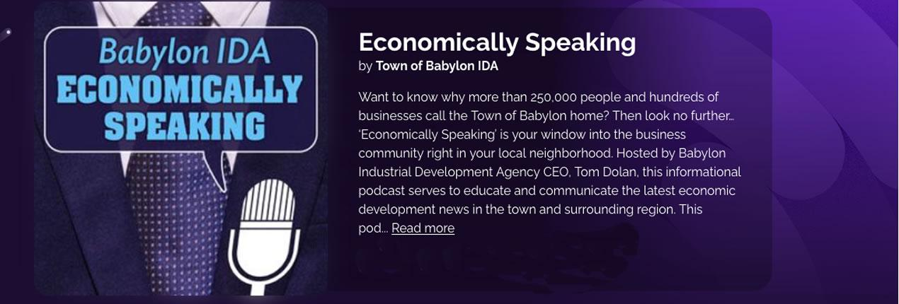 Economically Speaking Podcast