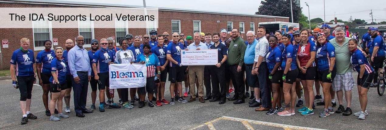 The IDA supports local veterans