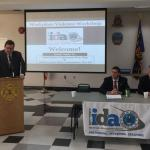 Babylon IDA CEO Matt McDonough, United States Congressman Peter King and Suffolk County Police Commissioner Tim Sini